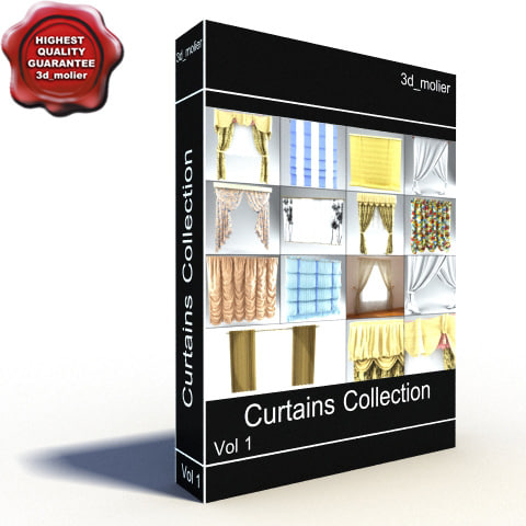 curtains vol1 c4d