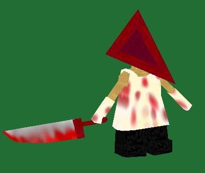 3d pyramid head model