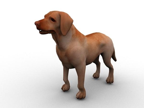 3dsmax dog