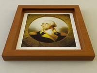 3d picture frame model
