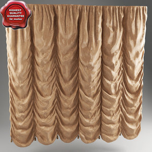 3ds french curtain