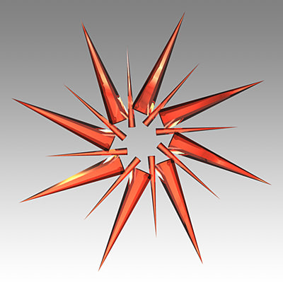 christmas ornament shiny glass 3d model