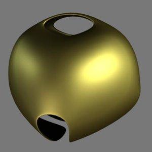 free obj model jingle bell