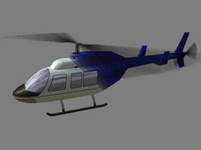 3d 3ds jet ranger