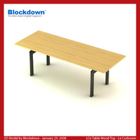 max le corbusier table