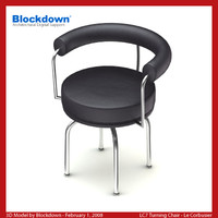 LC7 Turning Chair
