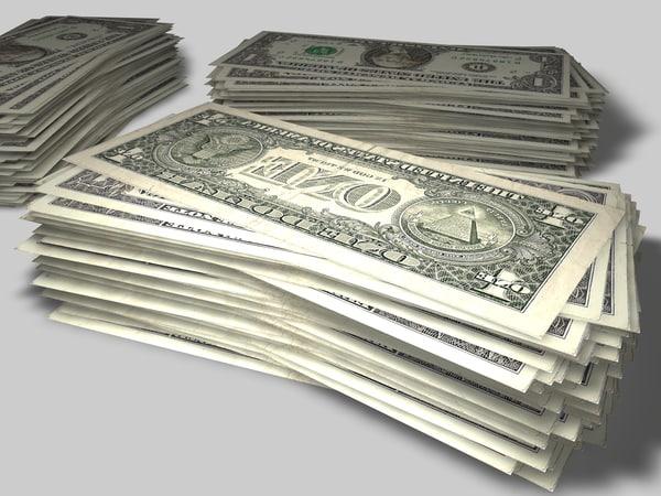 3d stacks money