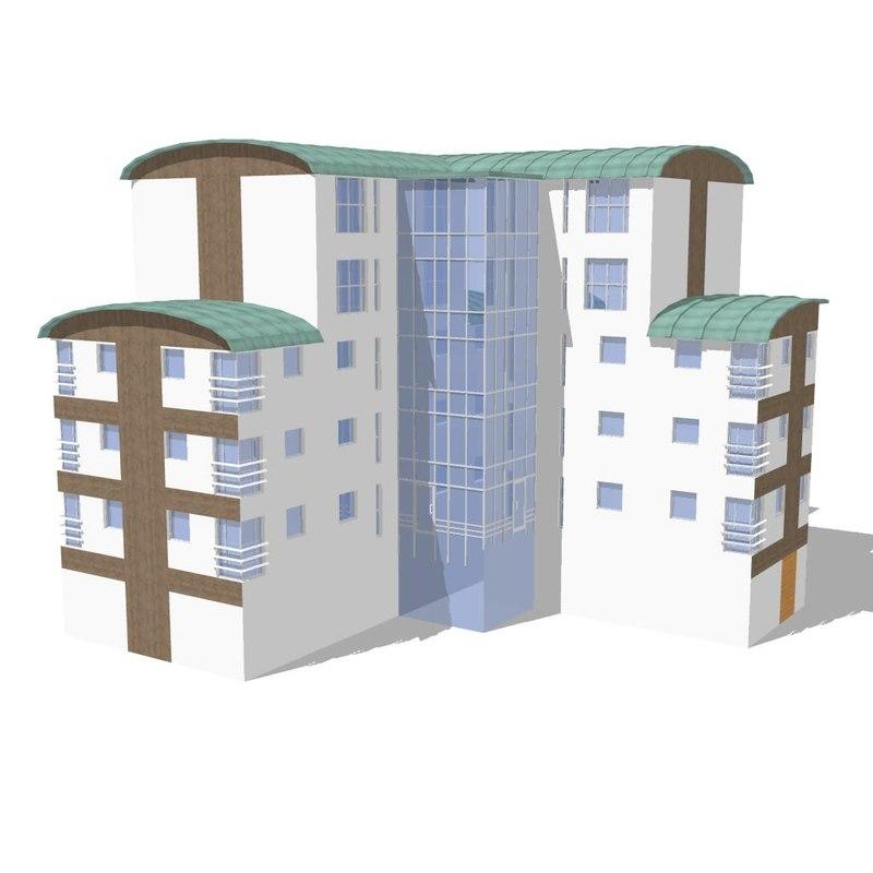 house building 3d model