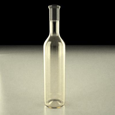 alcohol bottle obj