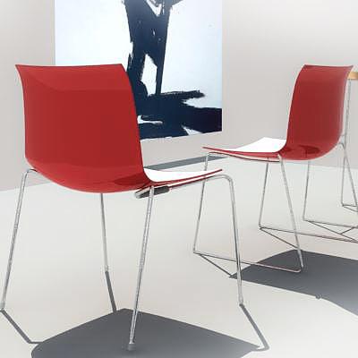 3d max catifa chair