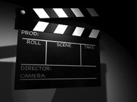 clapboard clap board 3d model