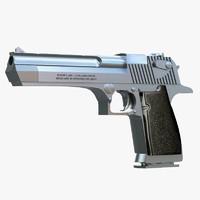 3ds max desert eagle pistol