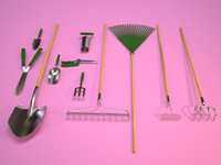dxf gardening tools