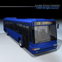 3d intercity bus