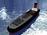 oil cargo 3d model