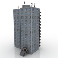 building block 3d max