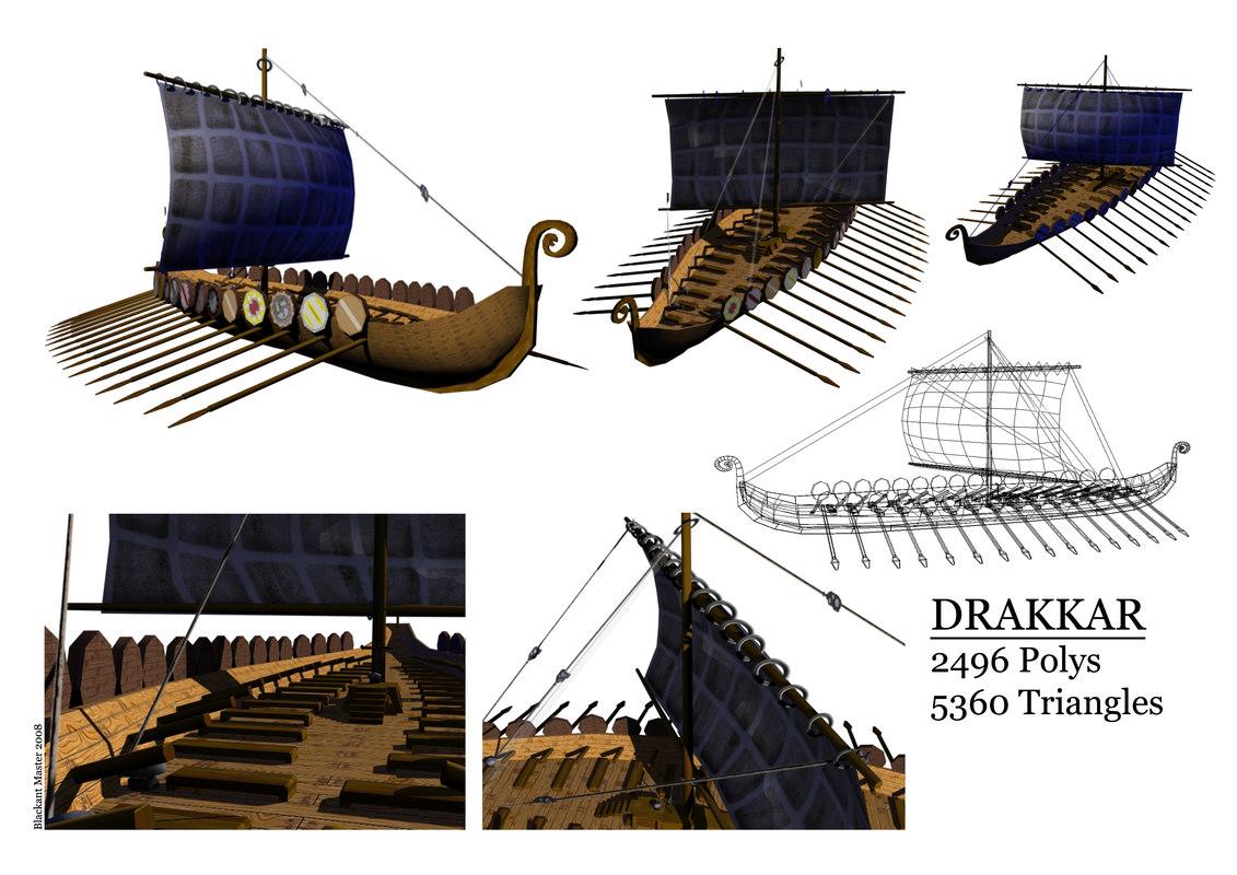 3ds max drakkar games