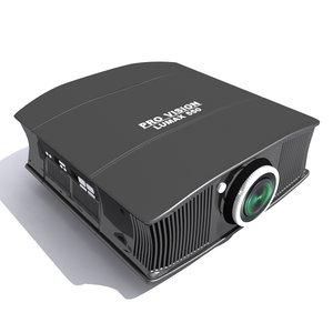 3d projector model