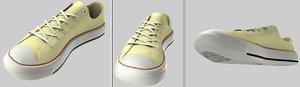 maya shoe modeled