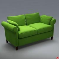 Sofa loveseat089