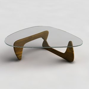 3ds max noguchi coffee table