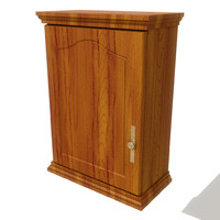 3d model of kitchen wall cupboard
