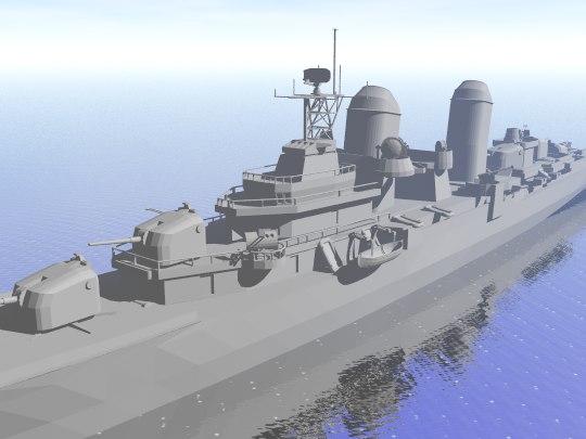 3d war navy