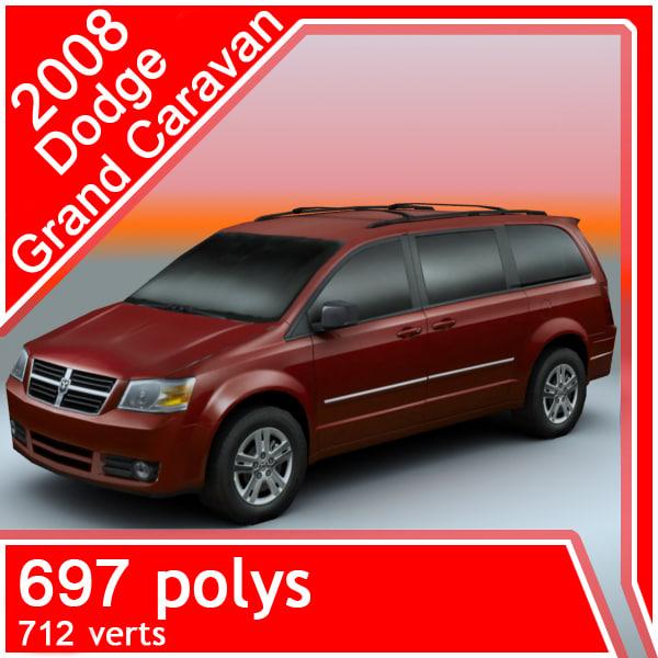 2008 Dodge Grand Caravan: 2008 Dodge Grand Caravan Obj
