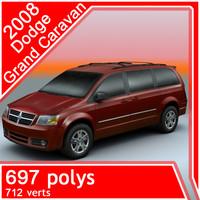 2008 dodge grand caravan obj