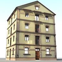 3d tuscan house model