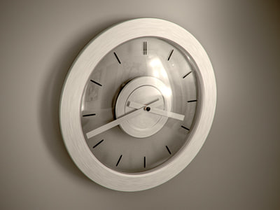 3ds max clock  max clock. Bathroom Clock