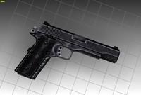hand guns 3d model