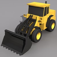 Low Poly L-70 Wheel Loader.MAX