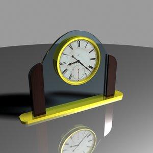 3d max glass gold mahogany desktop