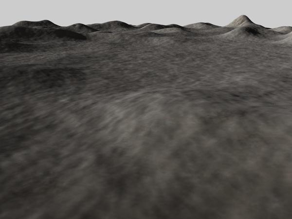 hilly landscape c4d