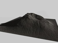 c4d mountain terrain