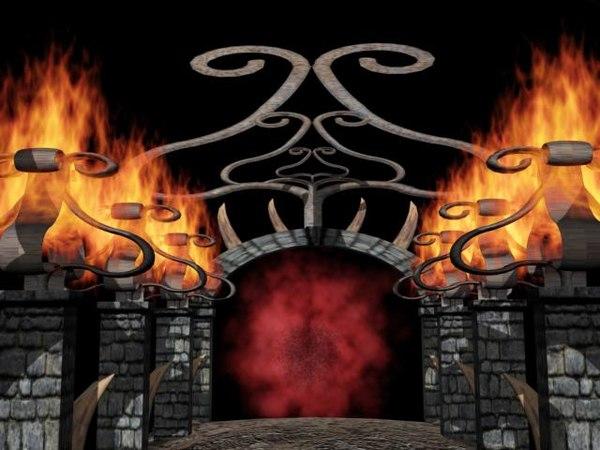 3d level hell model