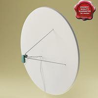 3d satellite aerial v7 model