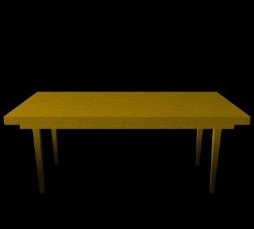 wood table lwo