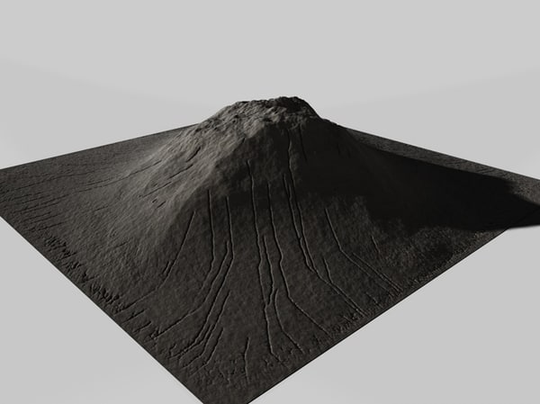 cinema4d mountain landscape