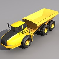 Low Poly A35-E Articulated Hauler.MAX