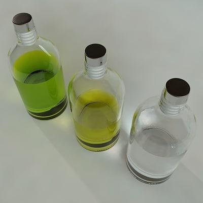 3d model soap bottle