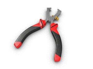 3d model cable stripper plier