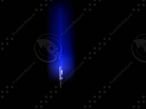 3d lightsaber model