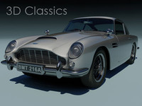 3ds max aston martin db5