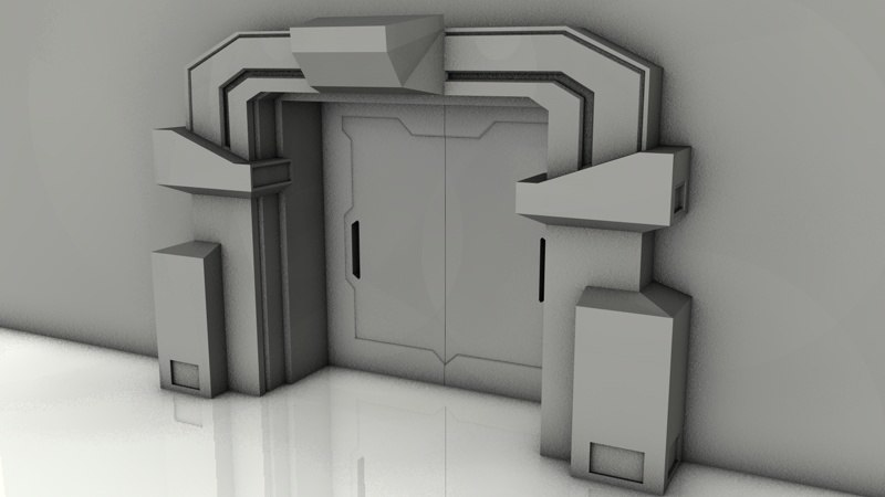 3ds max gate star wars
