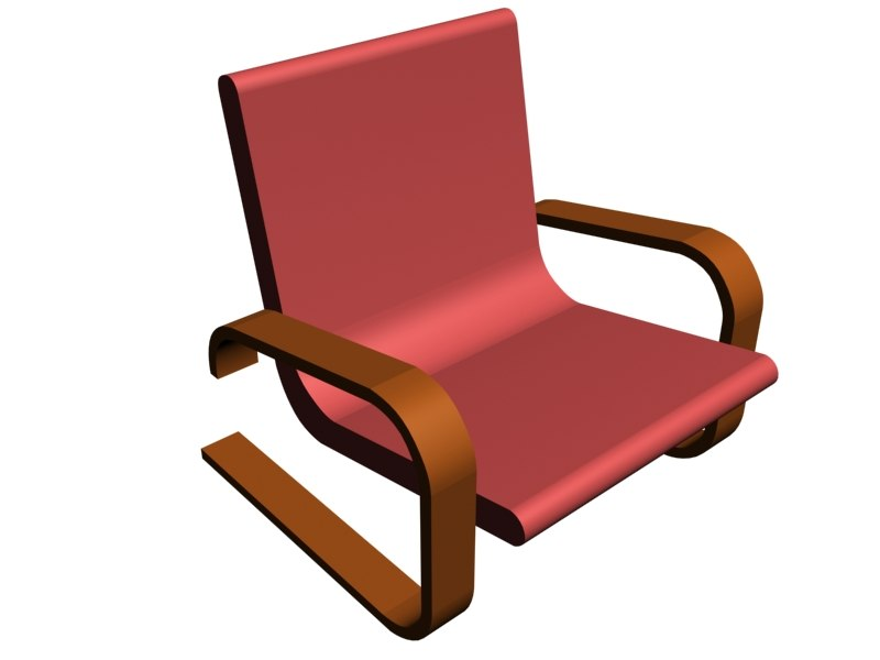 free 3ds model chair
