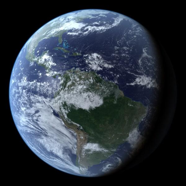cinema4d planet earth seasonal maps