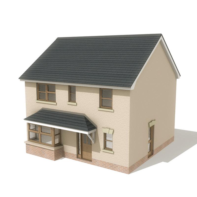 house13 3d model