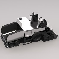 Low Poly PF-6170 Paving Equipment.MAX